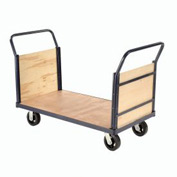 Euro Truck With Wood Ends & Deck 60 x 30 2400 Lb. Capacity
