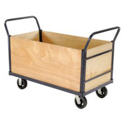 Euro Truck With 4 Wood Sides & Deck 60 x 30 2400 Lb. Capacity