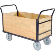 Euro Truck With 4 Wood Sides & Deck 60 x 30 1200 Lb. Capacity
