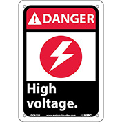 "Graphic Signs - Danger High Voltage - Plastic 7""W X 10""H"