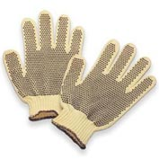 Honeywell Perfect Fit® Heavy Weight Double-Sided PVC Dots Kevlar® Gloves, Ladies'