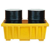 Eagle 1624 Spill Containment Sump for 2 Drums without Lid