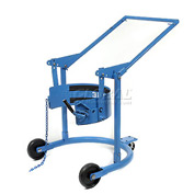 Morse® Mobile Drum Carrier & Positioner 80APS 55 Gal. Polyolefin Wheels