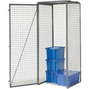 Bulk Storage Locker Single Tier 3' X 4' Starter With Roof
