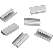 "Steel Strapping Seals For Use With 1/2""W Steel Strapping Tools - 1,000 Pack"