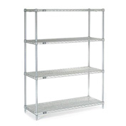 "Nexelate Wire Shelving 48""W X 18""D X 63""H"