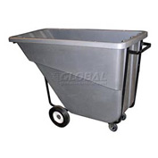 Bayhead Products Gray Medium Duty 5/8 Cubic Yard Tilt Truck 1000 Lb. Capacity