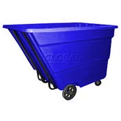 Bayhead Products Blue Medium Duty 2.2 Cubic Yard Tilt Truck 2200 Lb. Capacity