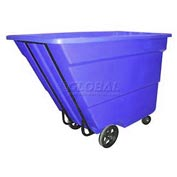 Bayhead Products Blue Medium Duty 1.7 Cubic Yard Tilt Truck 1700 Lb. Capacity