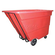 Bayhead Products Red Medium Duty 1.7 Cubic Yard Tilt Truck 1700 Lb. Capacity