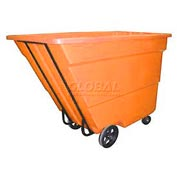 Bayhead Products Orange Medium Duty 1.7 Cubic Yard Tilt Truck 1700 Lb. Capacity