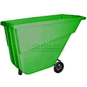 Bayhead Products Green Light Duty 5/8 Cubic Yard Tilt Truck 300 Lb. Capacity
