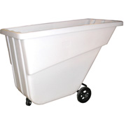 Bayhead Products White Light Duty 5/8 Cubic Yard Tilt Truck 300 Lb. Capacity