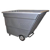 Bayhead Products Gray Light Duty 2.2 Cubic Yard Tilt Truck 1200 Lb. Capacity