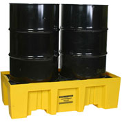 Eagle 1620 2 Drum Low Profile Spill Containment Pallet