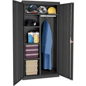 Sandusky Classic Series Combination Storage Cabinet CAC1361872 - 36x18x72, Black