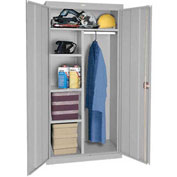 Sandusky Classic Series Combination Storage Cabinet CAC1361872 - 36x18x72, Gray