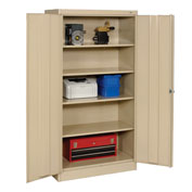 Tennsco Metal Storage Cabinet 36x24x72 Sand