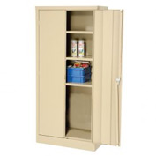 EDSAL Economical Storage Cabinet (Unassembled) - 30x15x66 - Tan