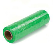 "Light Green Stretch Wrap 18"" x 1500' x 80 Gauge - Pkg Qty 4"
