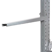 "Cantilever Rack Straight Arm No Lip, 24"" L, 2400 Lbs Capacity"