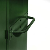 Sandusky Cabinet Push Handle TSH, Green