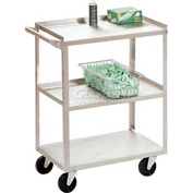Jamco Stainless Steel Utility Cart XV124 24 x 18 x 35 1000 Lb. Capacity