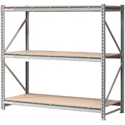 "Extra High Capacity Bulk Rack With Wood Decking 72""W x 18""D x 72""H Starter"