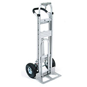 Best Value Aluminum 3-in-1 Convertible Hand Truck with Pneumatic Wheels