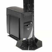 Computer CPU/UPS/Power Supply Holder Black