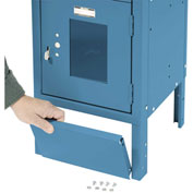 "Front Base For 12""W X 6""H Blue Locker"
