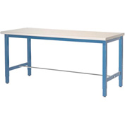 "60""W x 30""D Packaging Workbench - ESD Laminate Safety Edge - Blue"