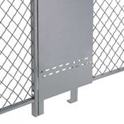 Fill-A-Gap Adjustable Panel for 10' Wire Mesh Partition