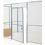 Wire Mesh Hinged Door - 10x4