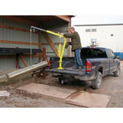 Vestil Steel Winch Operated Pickup, Trailer & Truck Jib Crane WTJ-2 1000 Lb.