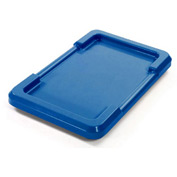 Quantum Lid LID2516-8 For 23-3/4x17-1/4 Blue - Pkg Qty 6