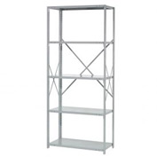 "Penco Steel Shelving 20 Ga 36""WX24""DX87""H Open Clip Style 5 Shelf Starter"