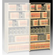 Imperial Shelving Add-On 36x15x88 - 7 Openings Sand