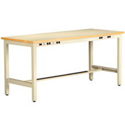 ESD Electronic Workbench 30inch High 72x30 Sand