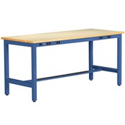 ESD Electronic Workbench 34inch High 60x30 Blue