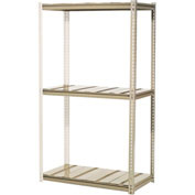 "High Capacity Add-On Rack 60""W x 48""D x 84""H With 3 Levels Steel Deck 1300lb Cap Per Level"