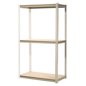 "High Capacity Add-On Rack 60""W x 48""D x 84""H With 3 Levels Wood Deck 1300 Lb Cap Per Level"