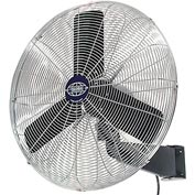 Oscillating Wall Mount Fan 24 Inch Diameter 1/4HP 7525CFM