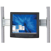 Flat Panel Monitor Track For 24 Inch Lan Station