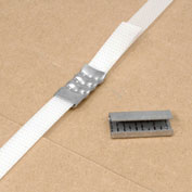 "1/2"" W Serrated Seals Carton Of 1000"