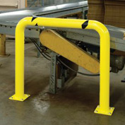 "Machinery Guard Round 36""H x 48""L"