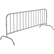 "Crowd Control Barrier Powder Coated 102""L x 40""H x 1-1/4"" Dia."