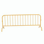Crowd Control Barrier Powder Coated Yellow 102