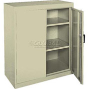 Sandusky Elite Series Counter Height Storage Cabinet EA22361842 - 36x18x42, Putty