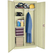 Sandusky Elite Series Combination Storage Cabinet EAC2361878 - 36x18x78, Putty